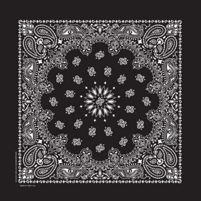 USA Bandana Black