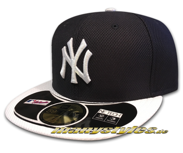 NY Yankees 59FIFTY MLB Diamond Era Series on field Cap Authentic Home von New Era