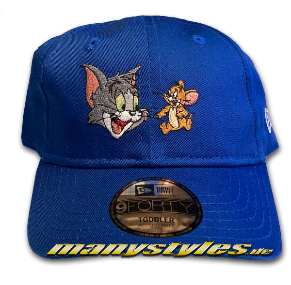 Tom and Jerry Film Character 9Forty Kids Cap Royal Team Color von New Era