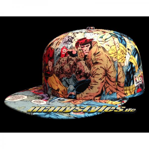 Marvel Comics Cap X Men All Over Sketches Cap #exclusive# von New Era