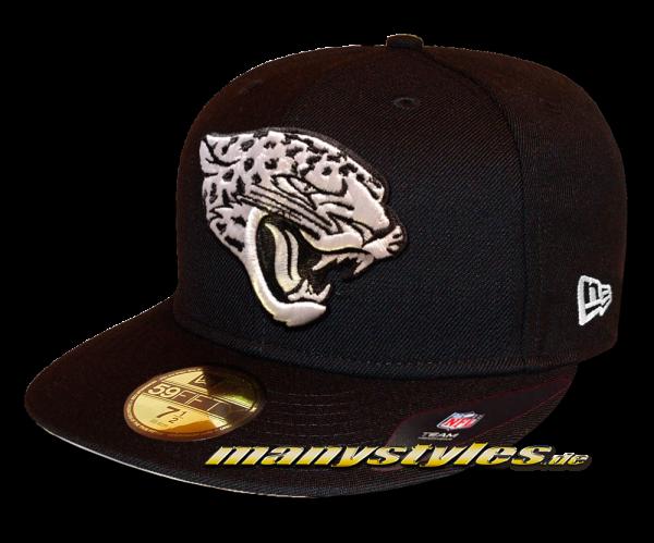 Jacksonville Jaguars 59FIFTY Fitted Cap League Essential Basic Fit2e von New Era Black White