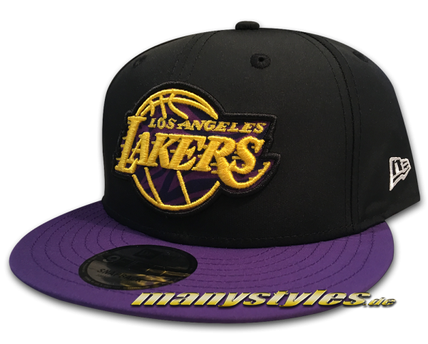 LA Lakers NBA 9FIFTY Team 950 Snapback Cap Black Purple Yellow OTC von New Era von New Era