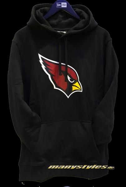 Arizona Cardinals NFL Team Logo PO Hood Hooded Black Team Color von New Era