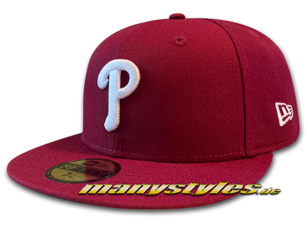 Philadelphia Phillies 59FIFTY MLB Authentic Retro Sports 1980 Cap