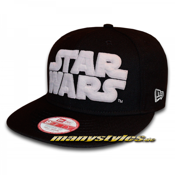 Star Wars Licensed Star Wars Script 9FIFTY Snapback Cap Black GITD
