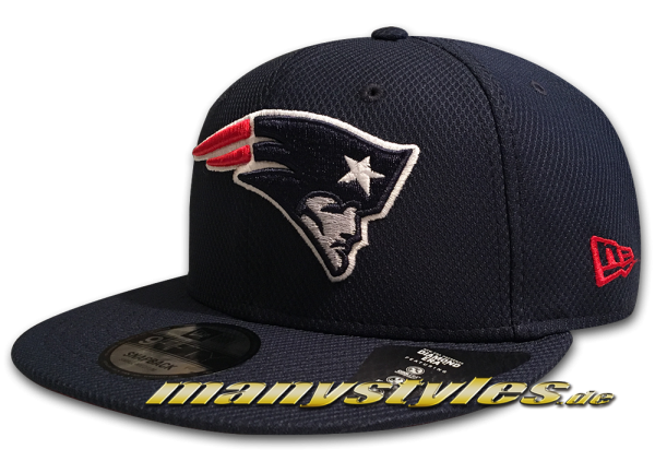 New England Patriots NFL 9FIFTY Diamond Era Essential Snapback Cap Navy OTC von New Era