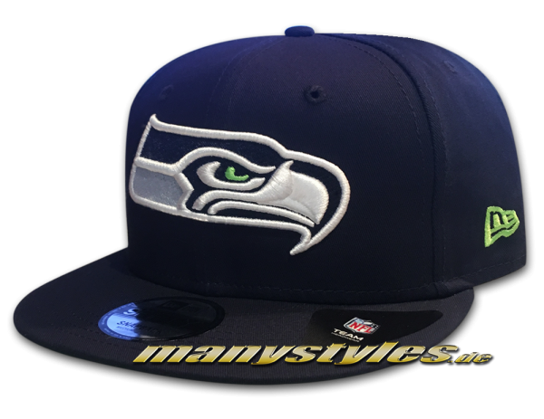 Seattle Seahawks 9FIFTY NFL Team Classic Snap Snapback Cap OTC von New Era