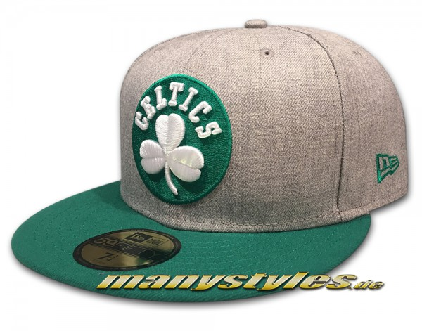 Boston Celtics 59FIFTY NBA Heather Pop Chambrak Cap