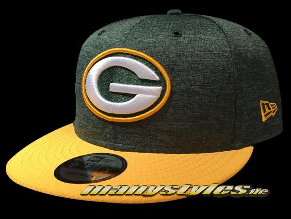Greenbay Packers 9FIFTY Home NFL Sideline 2018 Snapback Cap von New Era