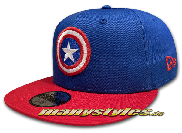 Marvel Comics Avengers Captain America Kids Character 9FIFTY Snapback Cap von New Era