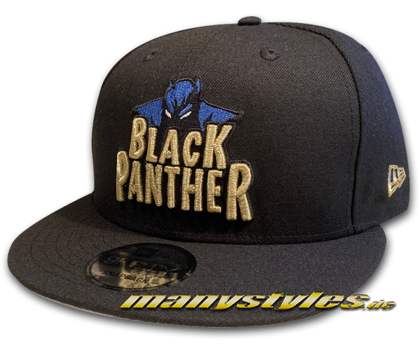 Marvel Comics Black Panther 9FIFTY Snapback Cap Black