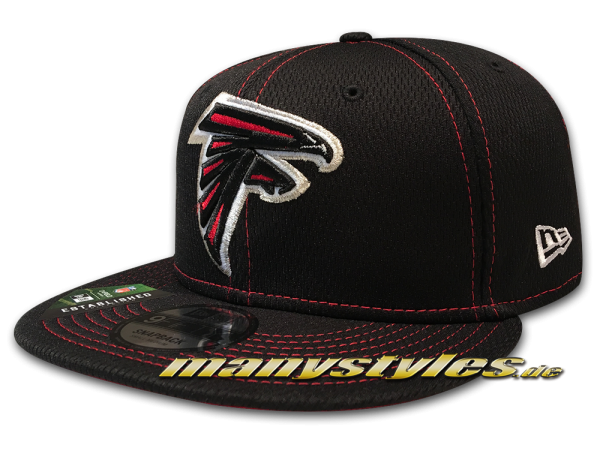 Atlanta Falcons 9FIFTY NFL 950 SL19 RD Snapback Cap Black Red OTC von New Era