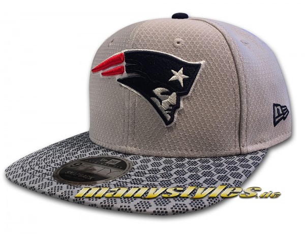 New England Patriots 9FIFTY NFL onf 950OF Snapback Cap von New Era
