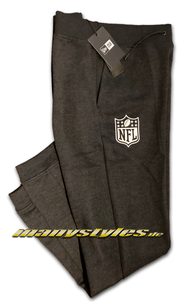 manystyles New Era NFL Shield Logo Suit Pants Heather Graphite von New Era
