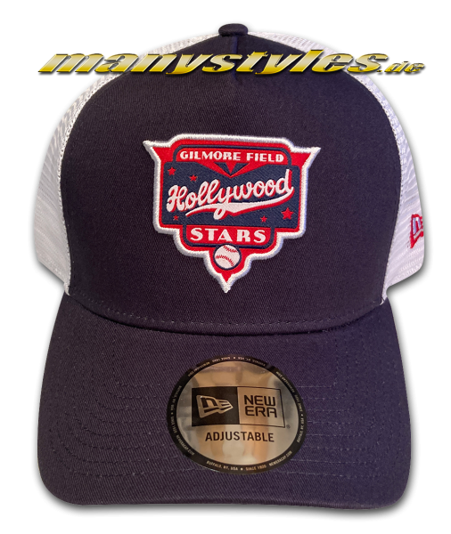 Gilmore Fields Hollywood Stars MiLB 9FORTY Trucker Cap Navy Whitevon New Era