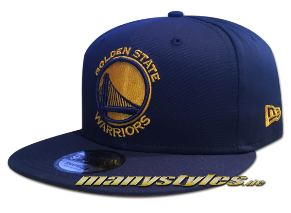 Golden State Warriors NBA Team Classic Snap Snapback Cap Black OTC Original Team Color