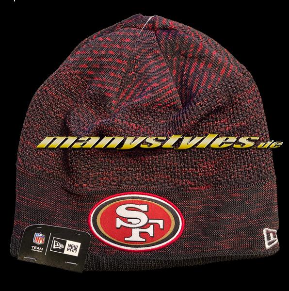 San Francisco 49ers NFL Sideline 2020 Engineered Knit Beenie von New Er