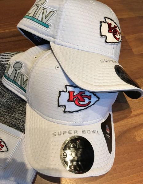 Kansas City Chiefs NFL 9ORTY Stretch Snap Superbowl LIV Cap