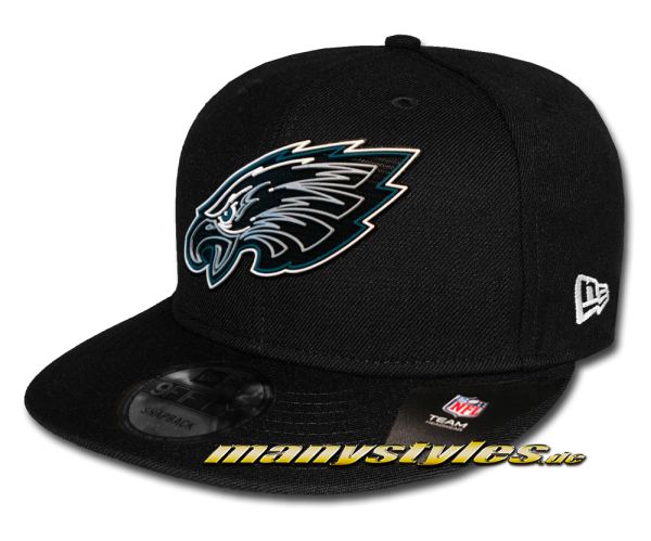 Philladelphia Eagles NFL 2020 Draft Official 950 9FIFTY Snapback Cap Black OTC von New Era