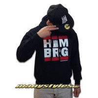 HH Run Hooded Hamburg manystyles exclusive special edition Black team Color