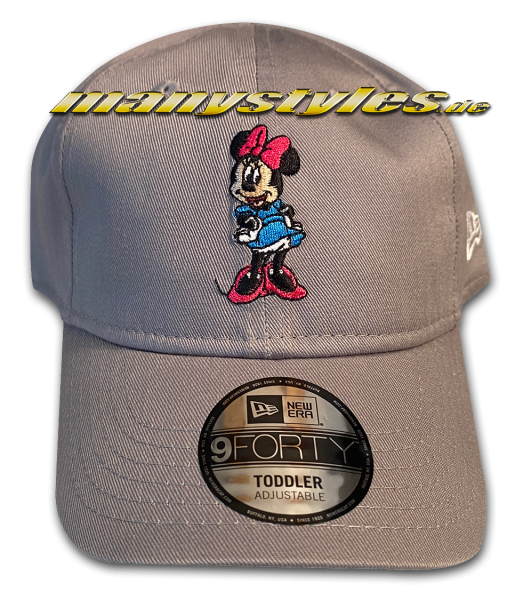 Minnie Mouse Disney 9Forty Kids Toddler Cap Grey