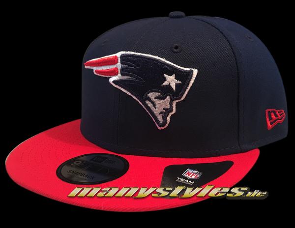 New England Patriots 9FIFTY NFL NE Team Classic OTC Snapback