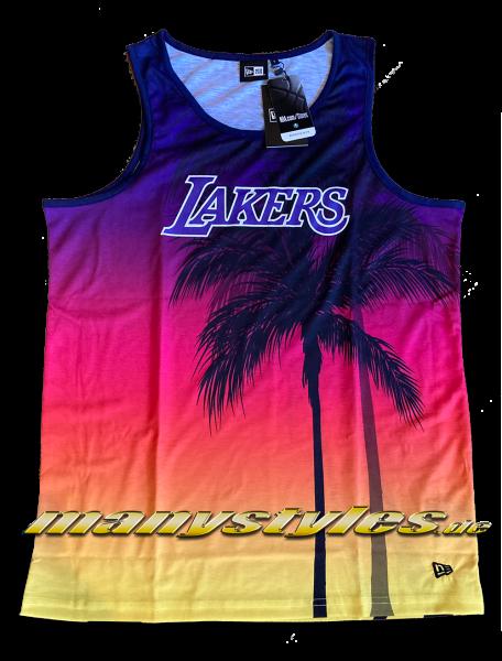 LA Lakers NBA AOP Summer City Tank Sunset von New Era