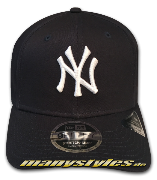 NY Yankees MLB 9FIFTY Tonal Stretch Snapback Cap 950 SS StretchSnapback Navy White OTC von New Era
