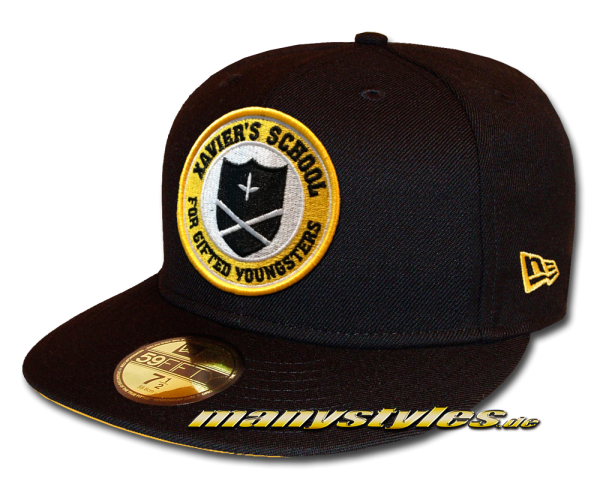 Marvel Comic X Men Xaviers School of gifted Youngsters 59FIFTY Fitted exclusive Cap