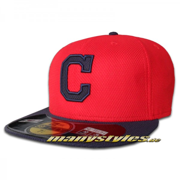 Cleveland INDIANS New Era Performance Diamond Era Authentic on field Cap