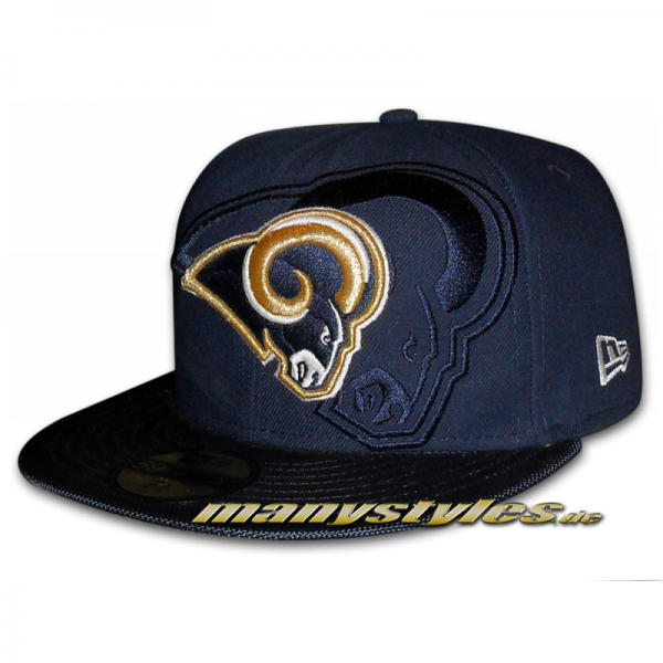 Los Angeles Rams 59FIFTY NFL on field Sideline Cap Game