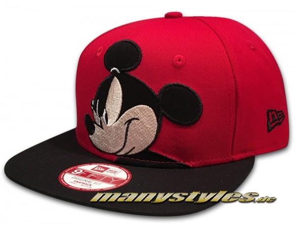 Disney Mickey Mouse over logo 9fifty Snapback Capvon New Era frontside
