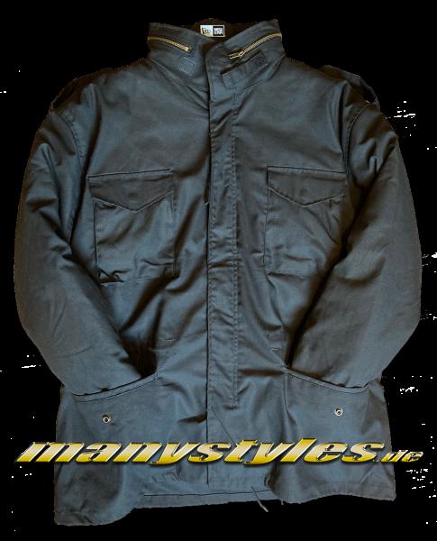 Brandit M65 Army Parka Jacket Black