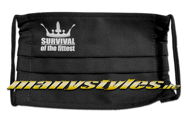 manystyles.de | THE ROOTS Survival of the Fittest Mask Ill Three - Corona 2020 Support Mask Design Ill Three real