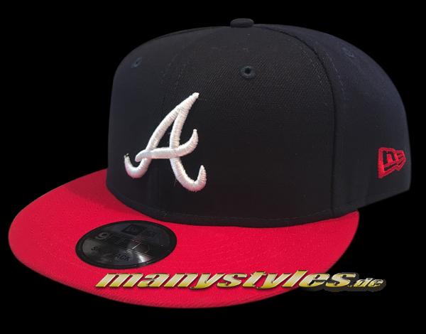 Atlanta Braves 9FIFTY MLB NE Team Classic OTC Snapback von new Era