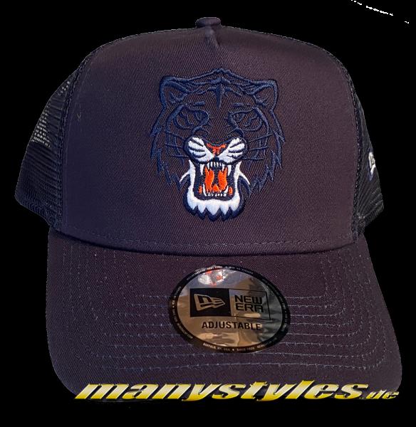 Detroit Tigers MLB 9FORTY HWC Cooperstown Team Elemental Curved Visor Cap in Navy von New Era