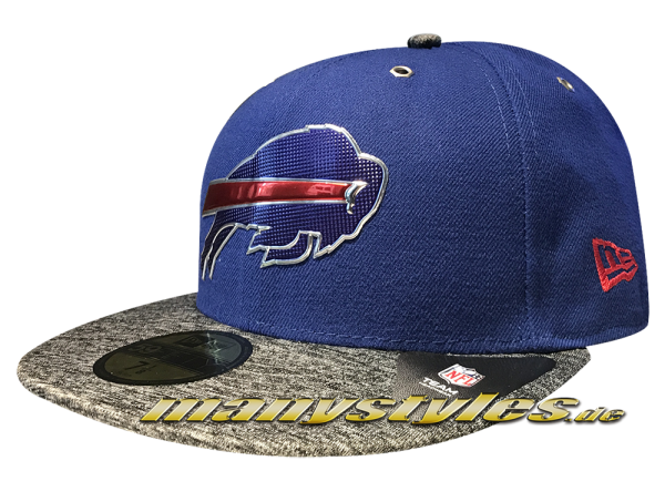 NEW ERA Buffalo Bills NFL Draft On Stage Cap Royal Team Color